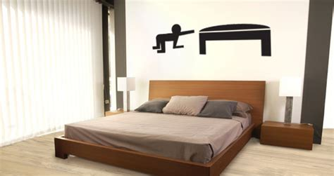 pictogramme chambre stickers muraux pictogramme humour chambre sticker