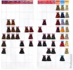 tigi color chart tigi hair color chart wesharepics