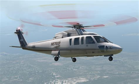Plane Helicopter by Sikorsky S 76 X Plane