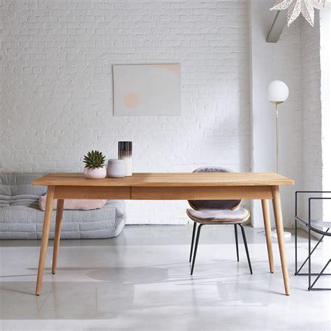 table en teck vintage vente de tables 180x80 modele jon 224 k