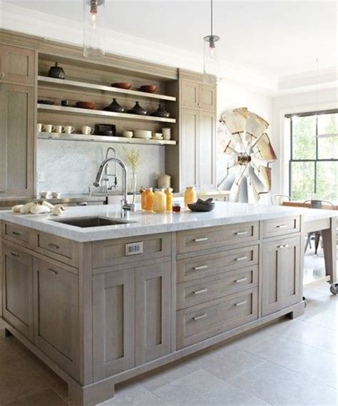 stain oak kitchen cabinets 17 best ideas about gray stained cabinets on pinterest