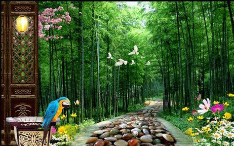 Bamboo Forest Wallpaper Room - popular bamboo wall mural buy cheap bamboo wall mural lots