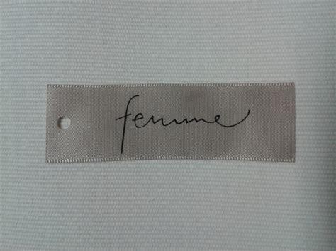 Label Satin printed labels