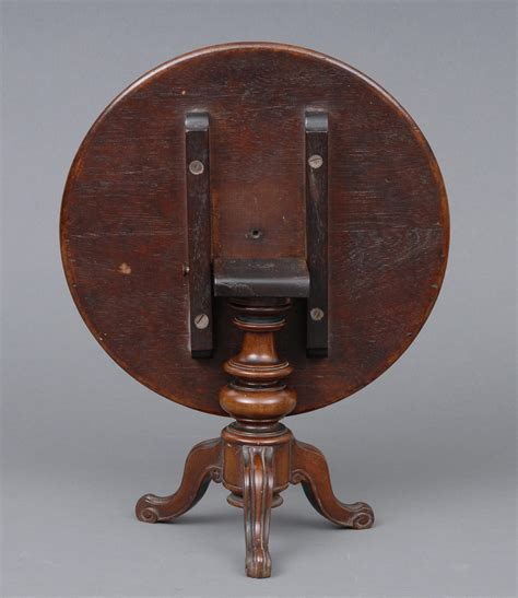 miniature tunbridgeware tilt top table circa 1860