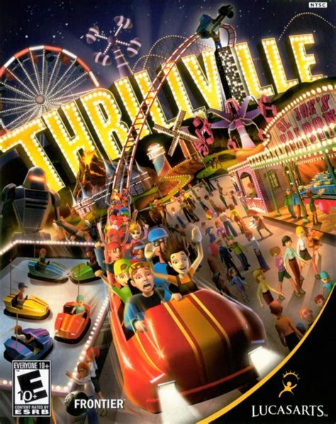 theme park psp thrillville gamespot