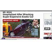 Mr Bean Accident  Some Of Footage Revealved YouTube