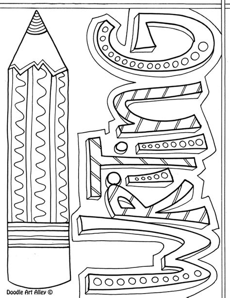 writing cover page subject cover pages coloring pages classroom doodles