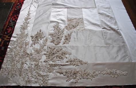 Wedding Dress Quilt by Keepsake Quilts A Wedding Dress Keepsake Quilt