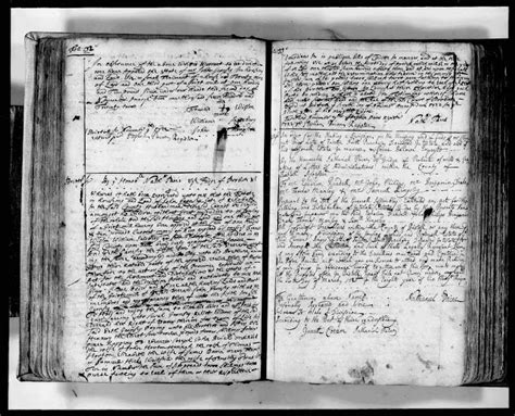 Bristol County Court Records Genea Musings Amanuensis Monday Probate Records For Estate Of Garnsey 1648