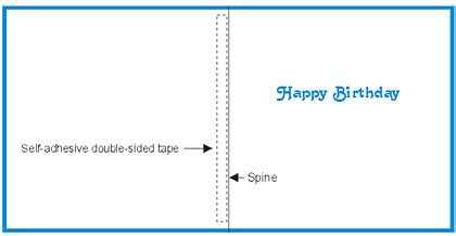 free birthday greetings card insert template to