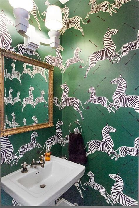 powder room statement wallpapers   appointed