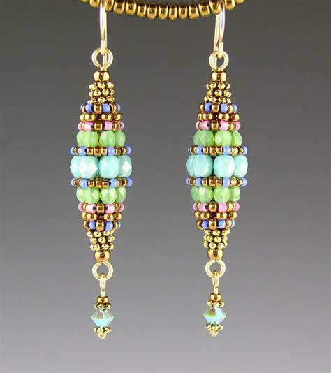 images of beaded earrings turquoise beaded bead earrings