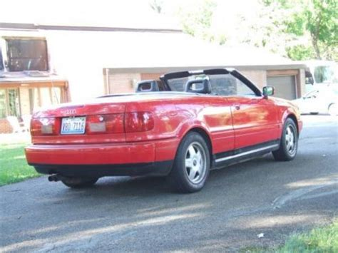 buy new 1995 audi cabriolet base convertible 2 door 2 8l convertible no reserve in west chicago