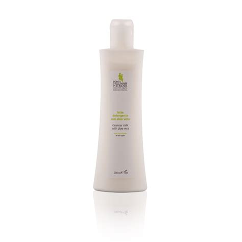 Milk Cleanser With Aloe Vera Extract aloe vera cleansing milk 200 ml with aloe vera ischia spaeh