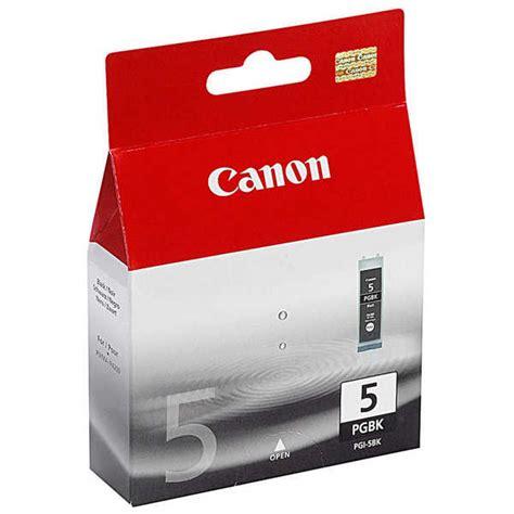 Cartridge Canon 5 Black Original canon pgi 5 black ink cartridge best value fast delivery