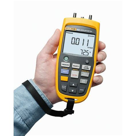 Fluke 922 Kit Airflow Meter Kit Micromanometer Micro Manometer fluke 922 airflow meter micromanometer at the test equipment depot