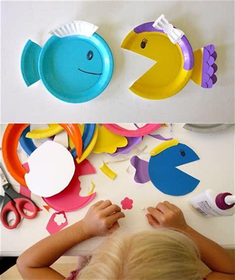 ideas para hacer manualidades con ni os usando palitos de helado manualidades con ni 241 os peces de colores decopeques