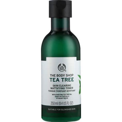 Bodyshop Tea Tree Toner the shop tea tree skin clearing mattifying toner