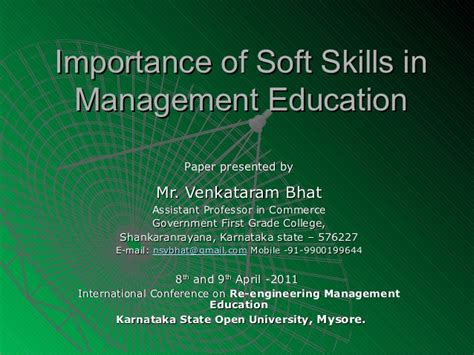 How Many Soft Skill Courses In An Mba by Soft Skills For Mba S