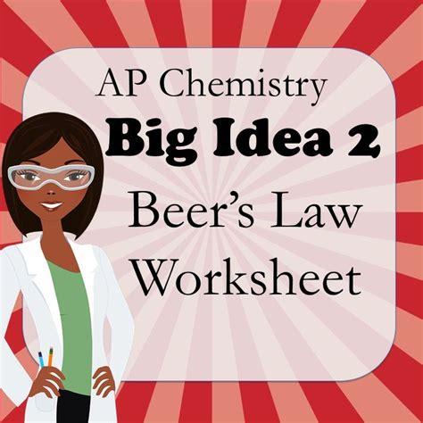 ap chemistry big idea 1 worksheet s