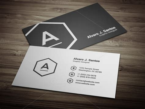black and white business cards templates free black amp white business card business card templates on