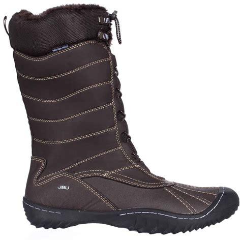 jambu boots jambu jbu longview winter snow boots in brown lyst