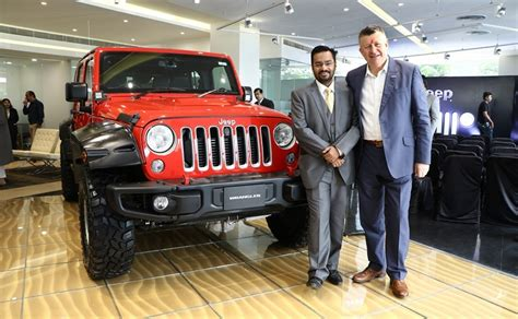 Jeep India Dealership Jeep India S Dealership Inaugurated In Ahmedabad 9