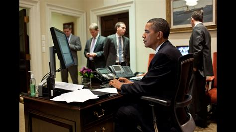 obama at desk tickle the wiresecret service tracks threats against president obama on social media tickle
