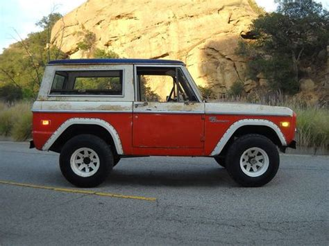 baja bronco for sale buy used 1973 ford bill stroppe baja bronco unrestored