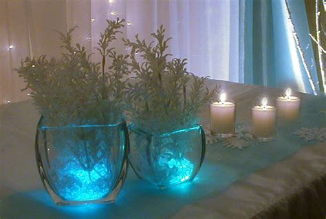 winter themed table decorations winter theme and wedding ideas