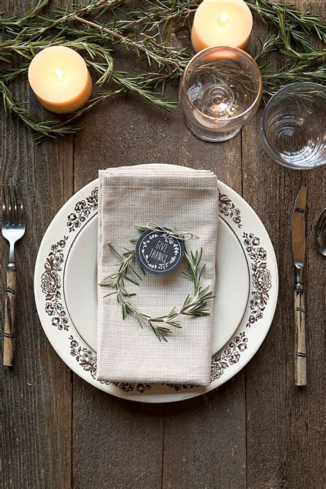 place setting ideas three diy thanksgiving place settings gift favor ideas