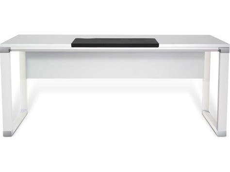 Unique Furniture 500 Series 71 X 36 Rectangular White White Lacquer Desk Accessories