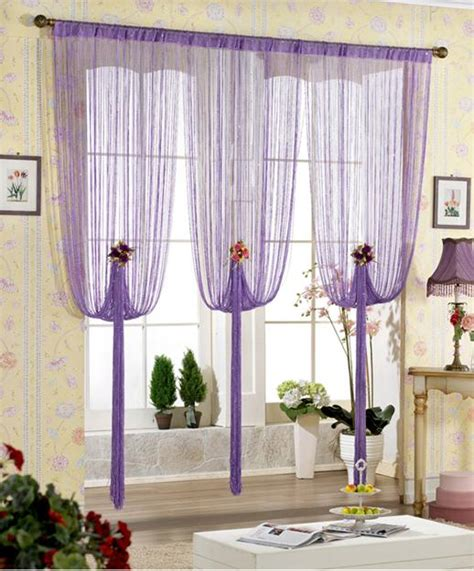 New Style Curtains Home Decorating Curtain Home Decor Accents To Romanticise Modern Interior Design