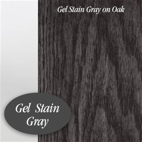 2nd Hand Kitchen Cabinets by General Finishes Oil Based Gel Stain Gray Brushstrokes
