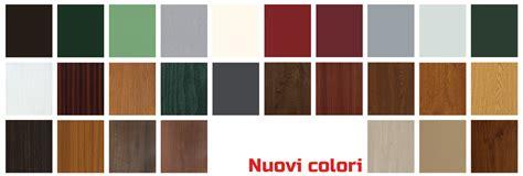 gamma di colori per interni finestre e porte serramenti in pvc savi guerrino