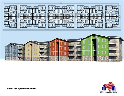 low cost apartments affordable housing mid rise low cost apartment building