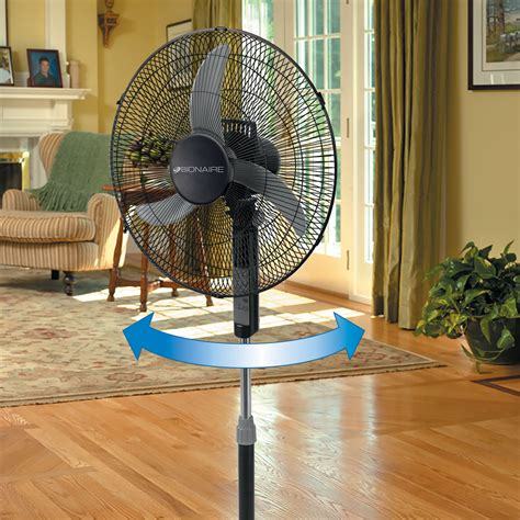 18 inch window fan bionaire 174 18 inch stand fan with remote control