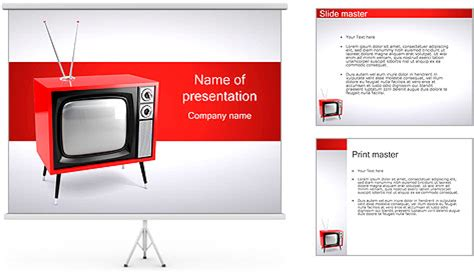 Tv Template For Powerpoint Tv Powerpoint Template Technology Ppt Backgrounds Templates Templates Tv Powerpoint Template