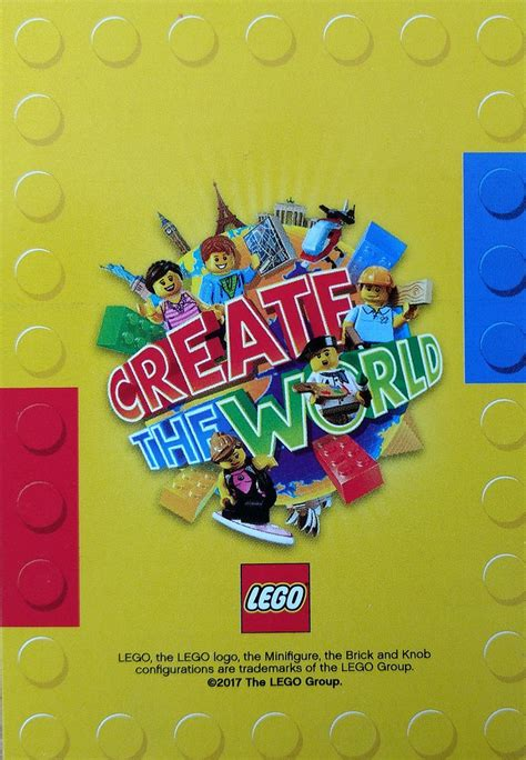 create the world cards now in sainsbury s brickset lego