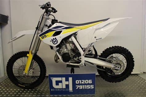 85cc motocross husqvarna tc85 b w 85cc moto cross white