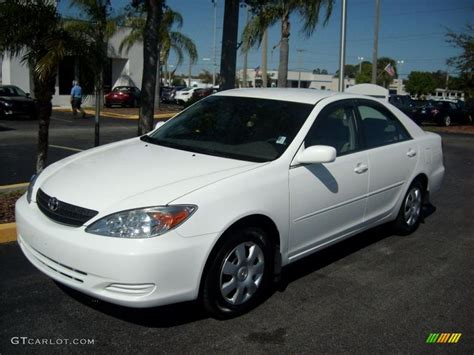 Toyota Camry Le 2003 2003 White Toyota Camry Le 46397180 Gtcarlot