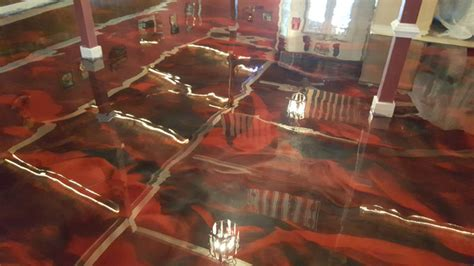 joes party barn metallic floor coatings  raleigh