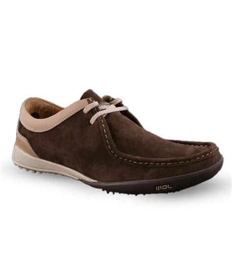 woodland prominent brown casual shoes price in india buy