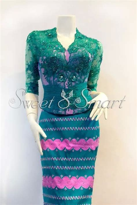 Blouse Top Bordir Bangkok 62 best images about myanmar fabs on thai