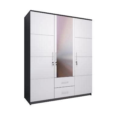 Lemari Pakaian Cowok jual best furniture whitty lemari pakaian 3 pintu