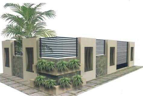 Merk Cat Tembok Pagar Luar 15 desain pagar minimalis modern terbaru
