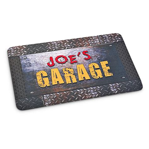 personalized cushion floor mat garage 211238