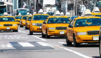 yellow cab vs uber new york city taxi hailing service