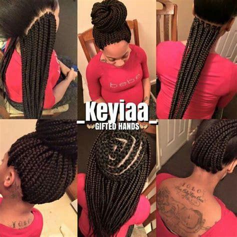 Pictures Of Box Braids Braid Pattern | crochet box braids braids twists locs pinterest