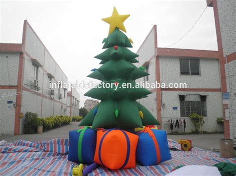 decoration cheap christmas inflatable trees for sale buy
